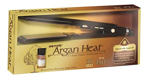 One 'N Only Argan Heat Flat Iron (Pack of 2)