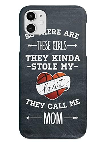 So There Are These Girls-Basketball Player-Mom Anti- Choques y Anti- Arañazos iPhone 12/11 Pro MAX 12 Mini SE X/XS MAX XR 8 7 6 6s Plus Funda Cajas del Teléfono