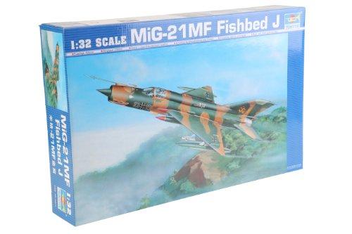 Trumpeter 02218 Modellbausatz MiG-21 MF