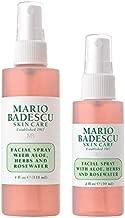 Mario Badescu Facial Spray with Aloe, Herbs & Rosewater, Combo 2
