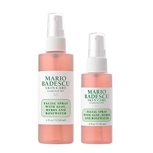 Mario Badescu Facial Spray with Aloe, Herbs & Rosewater, Combo 2
