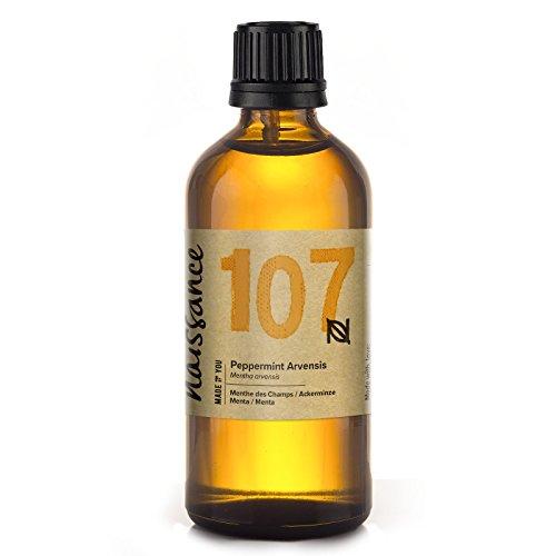 Naissance Peppermint/Ackerminze/Mentha Arvensis (Nr. 107) 100ml 100% reines ätherisches Minzöl