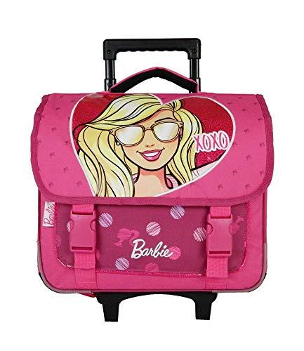 Bagtrotter BARNI18XOXO Barbie XOXO torba szkolna wózek, rozmiar 38 x 14 x 33 cm, kolor - różowy