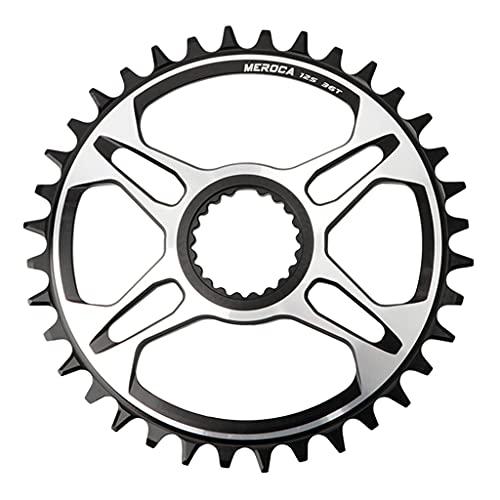 MSEKKO 12-Fach Direct Mount Kettenblatt 32T/34T/36T/38T für Shi Mano M6100/M7100/M8100/M9100 Kurbelgarnitur Fahrrad Kettenblatt Teile