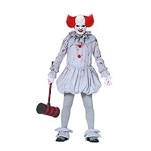 Horror Killer Joker Disfraz De Cosplay para Hombre Mujer, Scary ...