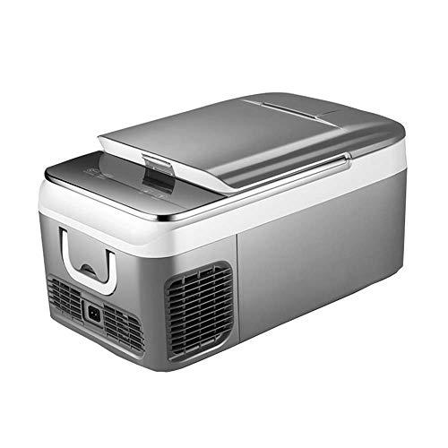 Flashing autokoelbox voor studenten, kleine koelkast kan het koelapparaat voor ijskoelers tot 20 graden Celsius voor auto A Duplice gebruik 12 V/24 V/220 V