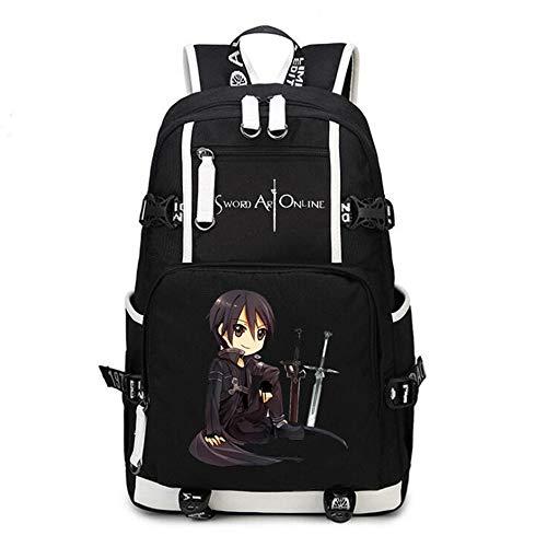 Siawasey anime Sword Art Online Cosplay zaino Bookbag laptop bag zaino scuola 13