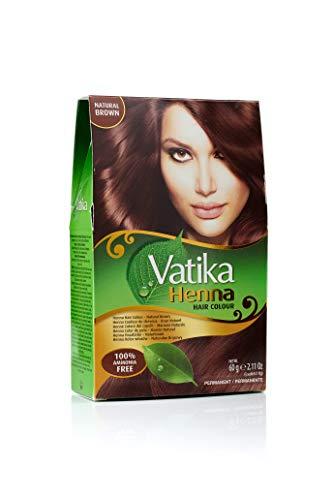 Vatika Henna Hair Colour- Natural Brown 60gms
