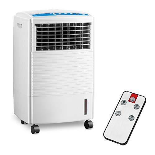 Uniprodo Uni_Cooler_04 Luftkühler mit Wasserkühlung 3-in-1 mobiles Kühlgerät ohne Abluftschlauch 10 l Luftbefeuchter Lufterfrischer Luftreiniger