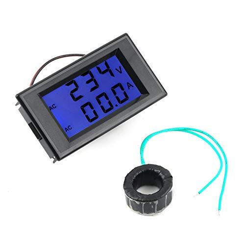 ghfcffdghrdshdfh 1 stuks Dual Display Digital AC Volt Ampèremeter Voltage Panel Meter+current Sense Resistors 100A 300V 110V 220V New