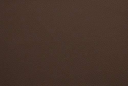Kunst-Leder RESTPOSTEN - 140 cm breit - Farbe weiß, mittel-grau, dunkel-grau, schwarz, braun, Farbe:braun