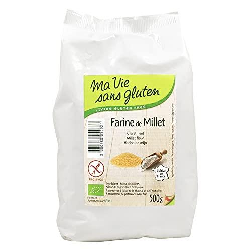 Ma Vie Sans gluten Farine de Millet - 500 g - 1 Unité - bio