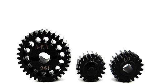 Hot Racing YEX1000T Steel Center Gear Set - Yeti XL