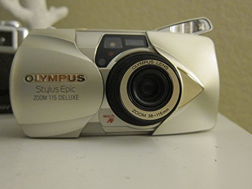 OLYMPUS Stylus Epic Zoom 115 Deluxe 35mm Camera Kit