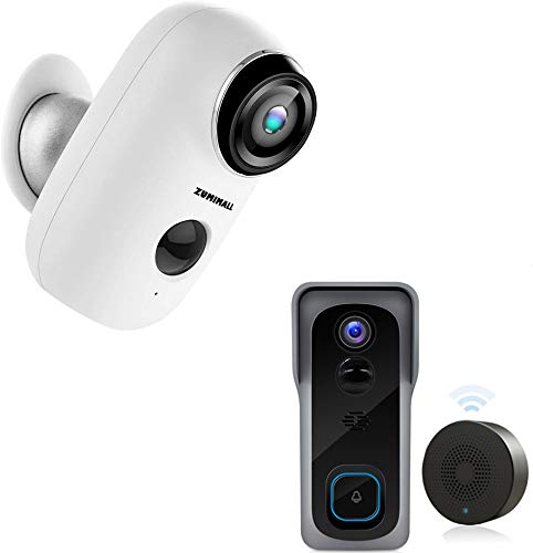 Zumimall Doorbell,Wireless Home Security System...