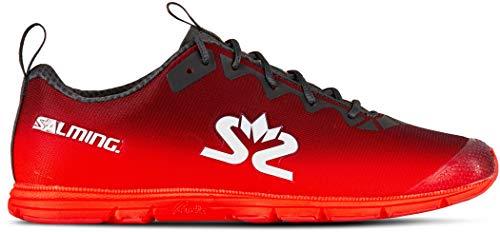 Salming Race 7 Schuhe Damen Forged Iron/Poppy red Schuhgröße US 7,5 | EU 38 2/3 2020 Laufsport Schuhe