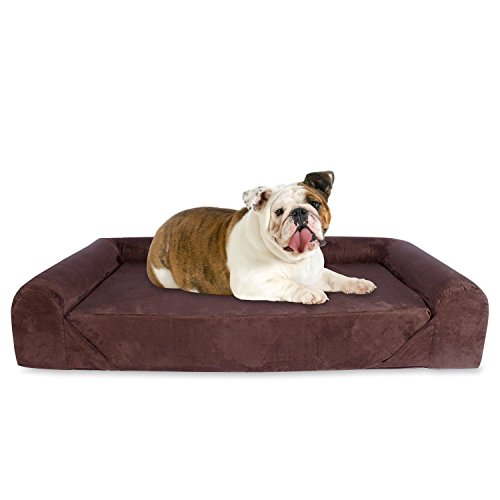 KOPEKS Deluxe Orthopedic Memory Foam Sofa Lounge Dog Bed