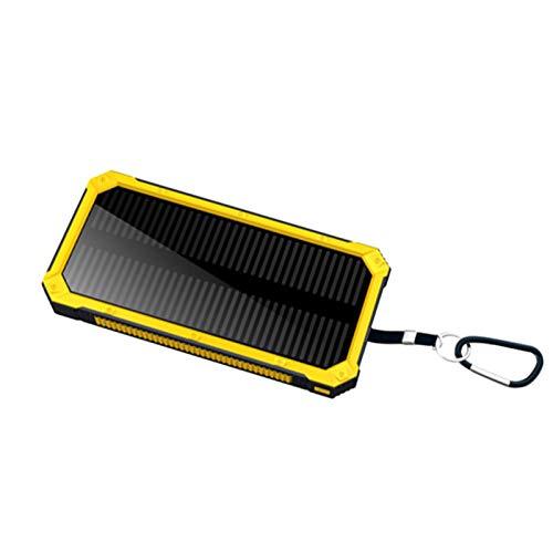 Solar banco de la energía 30000mah, con impermeable a prueba de polvo y 2 USB portátil paquete de la batería llevó la linterna, cargador externo del teléfono móvil, Apto for teléfonos inteligentes