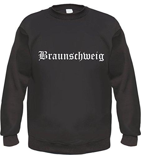 HB_Druck Braunschweig Sweatshirt L Schwarz