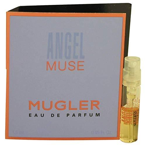 1 Sample (Vial) Angel Muse Perfume by Thierry Mugler for Women 0.05 oz Eau de Parfum Spray (0.05 Ounce Parfum)