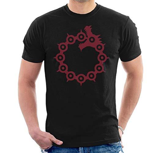 Cloud City 7 The Dragons Sin of Wrath Seven Deadly Sins Men's T-Shirt