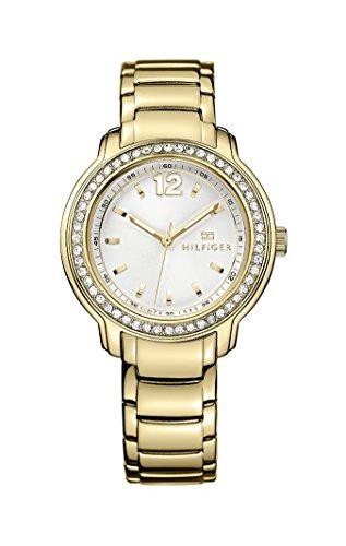 Tommy Hilfiger 1781467 - Reloj de Pulsera Mujer, Color Dorado