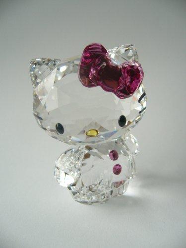 Swarovski Hello Kitty Pink Bow stehend Katze Cat 1096877 AP2012