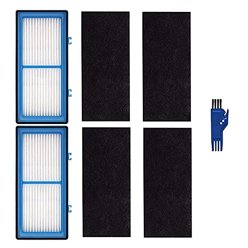 Ctzrzyt Filtro HEPA - Filtro para Purificador de Aire Holmes AER1 HAPF30AT, 2 Filtros HEPA + 4 Filtros Mejorados de Carbono + 1 Cepillo de Limpieza