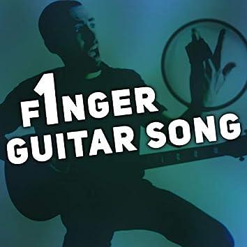 One Finger Guitar Song