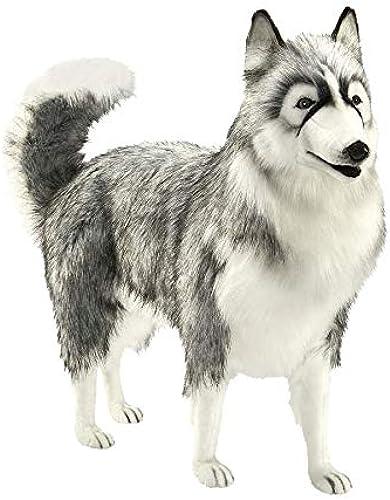 solo cómpralo Peluche husky husky husky gris 70 cm  al precio mas bajo