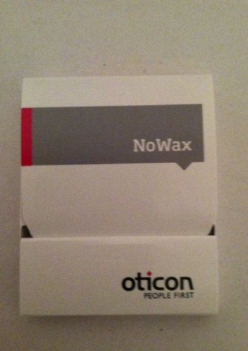 Original Oticon No Wax Filters (Genuine Filters from OTICON, NOT Generic Filters)