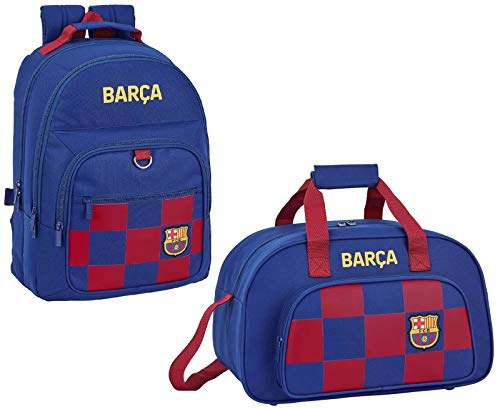 FC Barcelona Barca - Mochila y bolsa de deporte