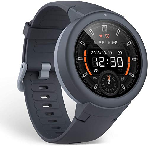 Amazfit Verge Lite, Reloj Inteligente con Bluetooth, Android, Gris (Shark Grey)