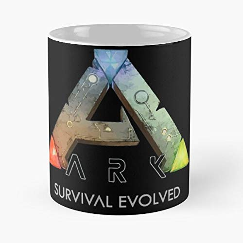 Survive Evolve Game Evolved Video Survival Dinosaurs Ark Best 11 Ounce Ceramic Coffee Mug