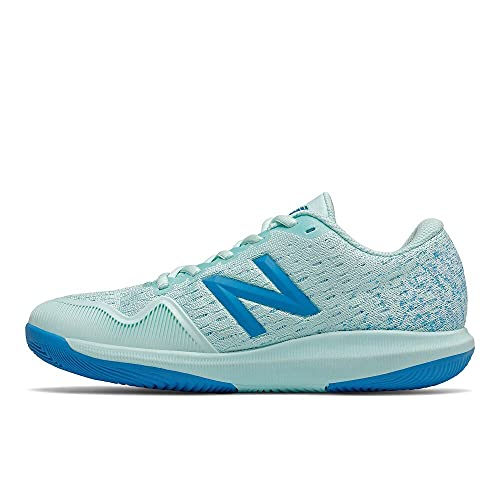 New Balance Women's FuelCell 996 V4 Tennis Shoe, Bali Blue/Vision Blue, 5 W US