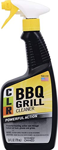 CLR BBQ Grill Cleaner, Spray Bottle, 26 Ounce (Packaging May Vary)