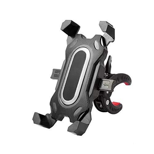 TIANkuo Soporte del teléfono de la Bicicleta Ajustable Amortiguador Soporte de Montaje Universal Montar en Bicicleta en Bicicleta DVR GPS Soporte de Soporte Silver