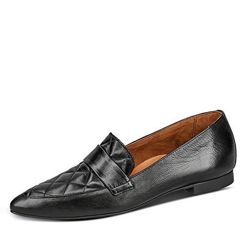 Paul Green 2907 a 25 mm - Cuña lisa para suelo/talón, color negro, color Negro, talla 38 EU