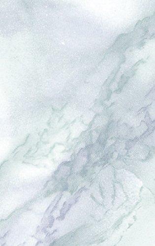 Klebefolie Steinoptik Marmor Carrara blau - 45 x 200 cm - Dekorfolie - Selbstklebende Folie