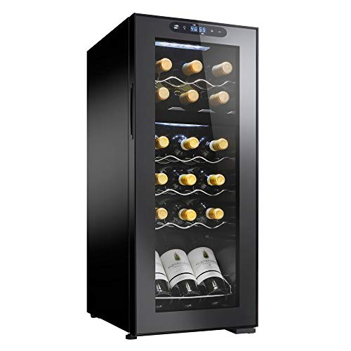 Wine Enthusiast 18-Bottle Dual Zone MAX Compressor Wine Cooler