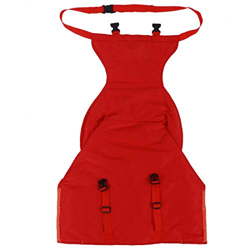 Easy Seat Tragbarer Hochstuhl, tragbarer sicherer Hochstuhlkonverter, bequemer Baby-Hochstuhlgurt für Kleinkinder(rot)