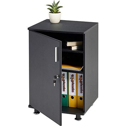 Titel: Piranha Schrank zur Arbeitsplatzerweiterung und passend zu unseren Büromöbeln in schwarz PC 4g