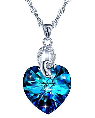SIXLUO Damen Kette 925 Sterling Silber Halskette