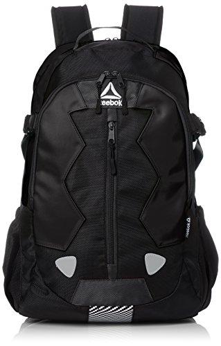 [リーボック] リュック メンズ レディース リュックサック 大容量 カジュアル スポーツ ブランド 26l a4サイズ フロントストラップ 通学 通勤 旅行バッグ ARB1008 ブラック F