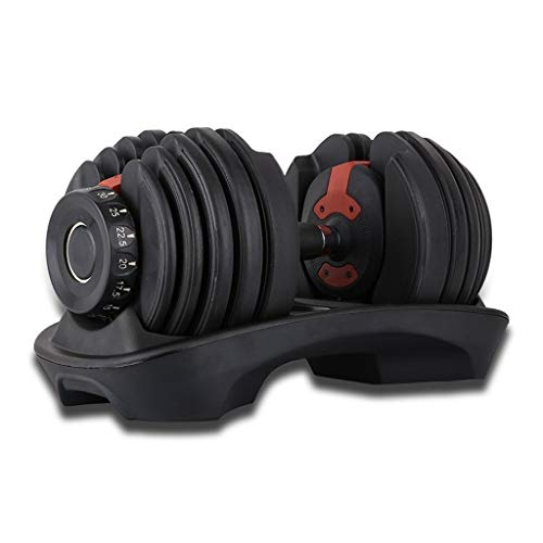 XWF Mancuerna Mancuernas Ejercicio dumbbel rápido Ajuste automático Peso Pesas Home Fitness Equipment Mancuerna Mancuernas