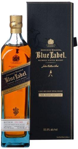 Johnnie Walker Blue Label The Casks Edition, Blended Scotch Whisky (1 x 1 l)