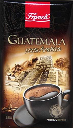 Franck Kaffee Premium GUATEMALA 100% Arabica 250g mljeveni - gemahlen - Gourmet Premium Coffee