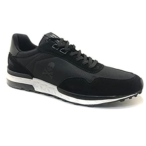 Scalpers Harry, Sneakers, para Hombre, Color Negro - Piel/Textil Talla: 43
