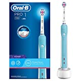 Braun Oral-B D16.513.U - Cepillo de dientes eléctrico de rotación, color azul