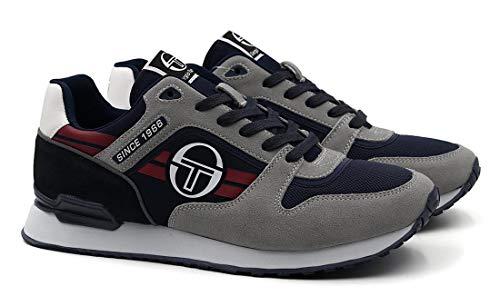 Sergio Tacchini - Sneakers Casual Sonic Authentic CLS per Uomo con Suola in Gomma (EU 42)